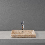 Woodio Cube 40 recessed washbasin