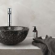 Woodio Soft 40 washbasin mystic black