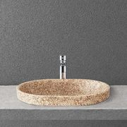 Woodio Soft 60 recessed washbasin