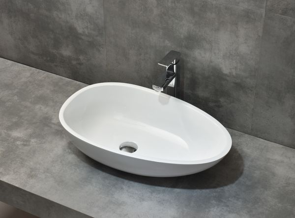 Beautiful Morning artifial stone Egg matt washbasin with pop-up drain Näytä toiminnot Beautiful Morning artifial stone Egg matt washbasin with pop-up drain