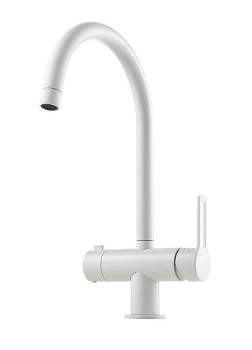 Tapwell Ringo RIN184 kitchen faucet matt white