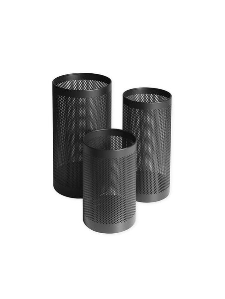 Inno perforated paper basket black