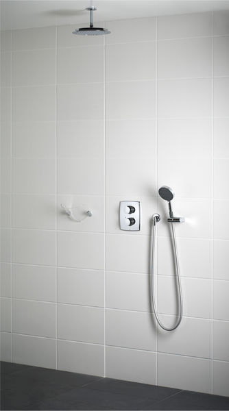 Oras concealed shower set package with handshower from the ceiling