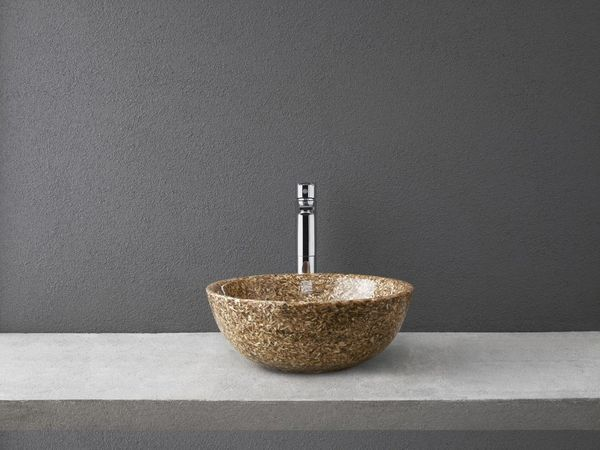 Woodio Soft 40 washbasin natural birch